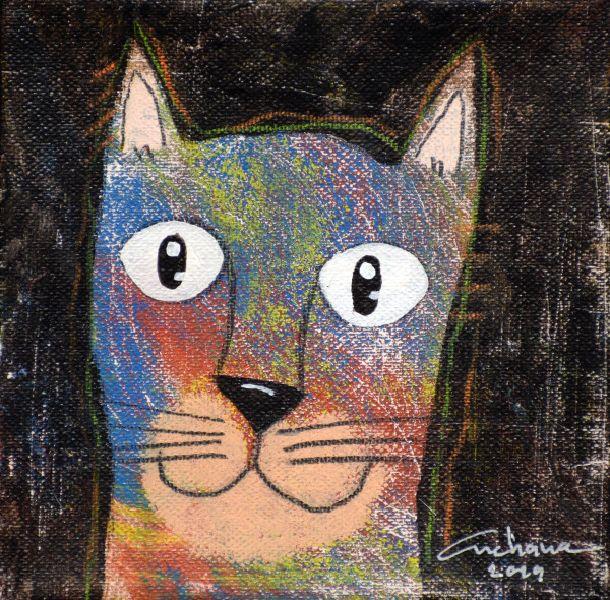 安恰娜‧恰麗亞琶朋-(NEW)黑色系列:寵愛貓咪 #5S