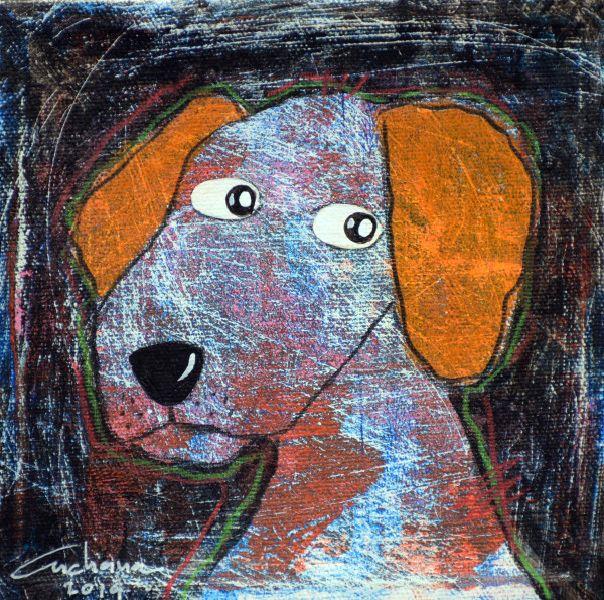 安恰娜‧恰麗亞琶朋-(NEW)黑色系列:寵愛狗狗 #3S