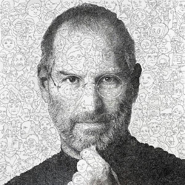 佐垣慶多-賈伯斯 - 偉人肖像系列 Steve Jobs: Hystorical Portraits Series