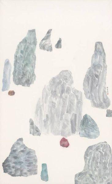 袁慧莉-孤山水no.40    Discrete Islands Seriesno.40