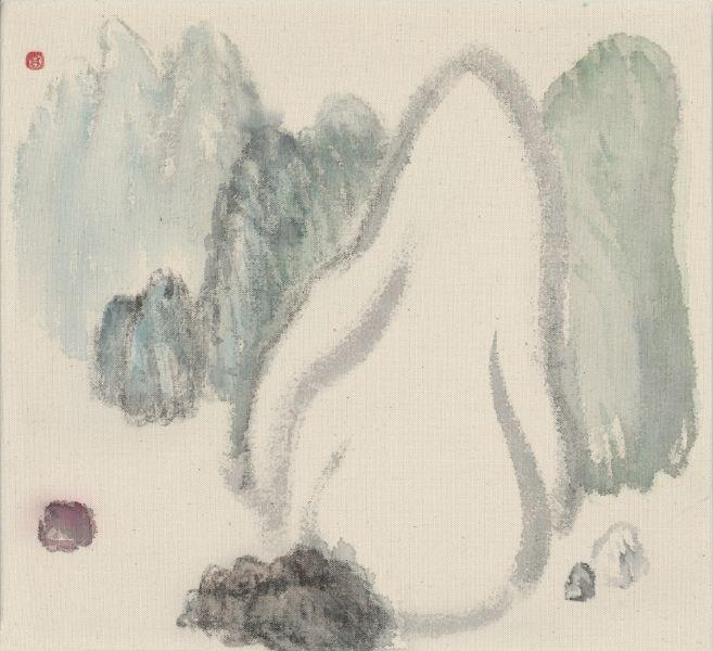 袁慧莉-勢山水no.17 Intrinsic Potential Landscape no.17