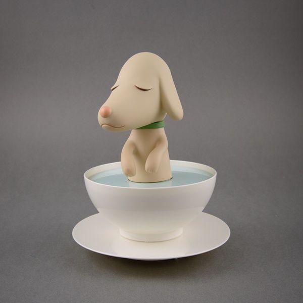 奈良美智-奈良美智 Pup Cup 杯子狗狗