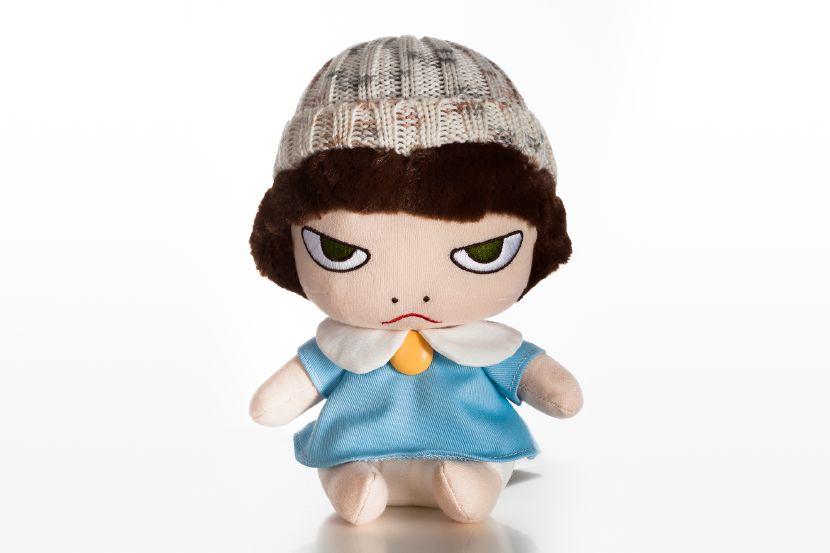 奈良美智-奈良美智娃娃 毛線帽睡衣雷亞