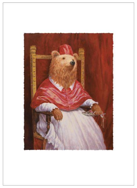 詹喻帆-穿著紅衣的熊主教