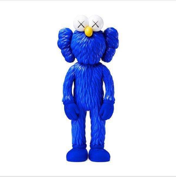 KAWS-KAWS BFF - Blue - MOMA 藍色限量藝術公仔