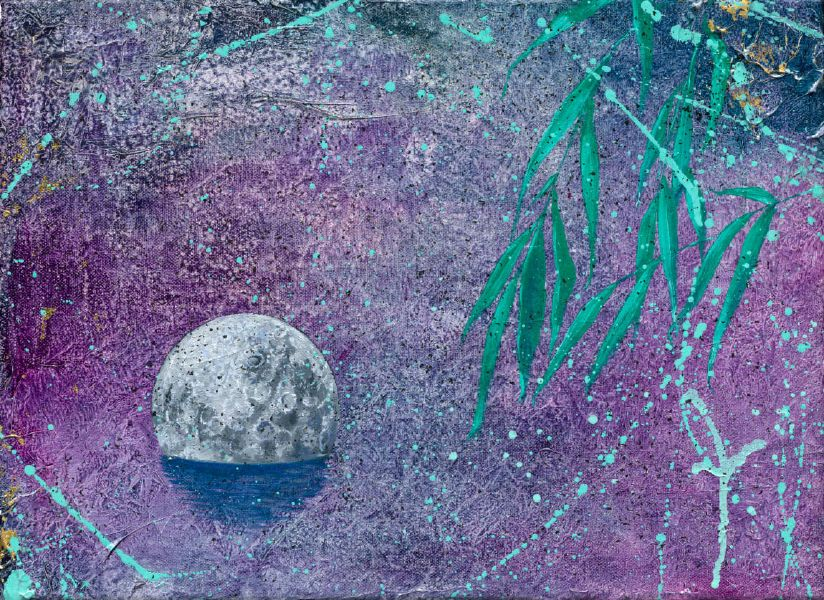 黃士綸-落月 Fallen Moon