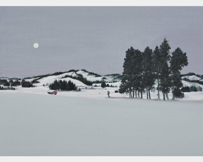 傅作新-雪中小屋 Cabin in the Snow (5P)