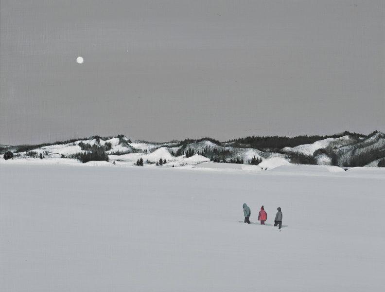 傅作新-月下漫步 Stroll under the Moon (6P)