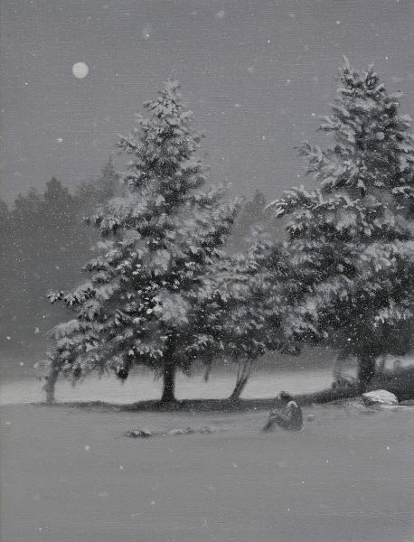 傅作新- 雪中的寧靜 Tranquility in the Snow