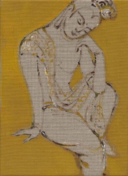 曾亞琪-睡佛 (金) Reclining Buddha (Gold)