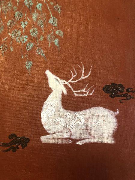 曾亞琪-林中臥鹿 Resting Deer in the Woods