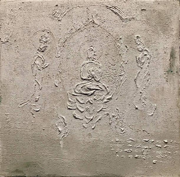 曾亞琪-浮雕 - 菩提心 (大-23) Bodhicitta No.23