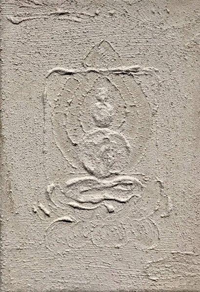 曾亞琪-浮雕 - 菩提心 (五) Bodhicitta No. 5