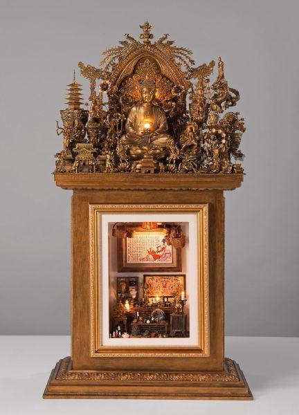 王寶慶-世界神佛菩薩同行-阿彌陀佛 God in Company with Buddha - Amitabha