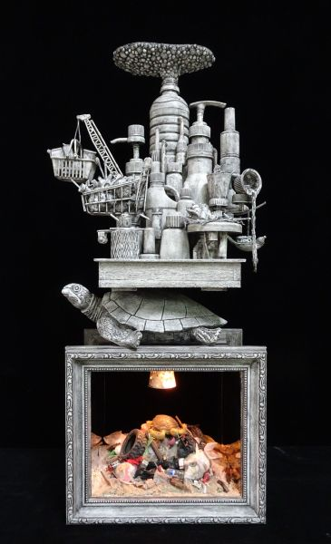 王寶慶-沉重的行囊-海龜 Heavy Luggage - Sea Turtle