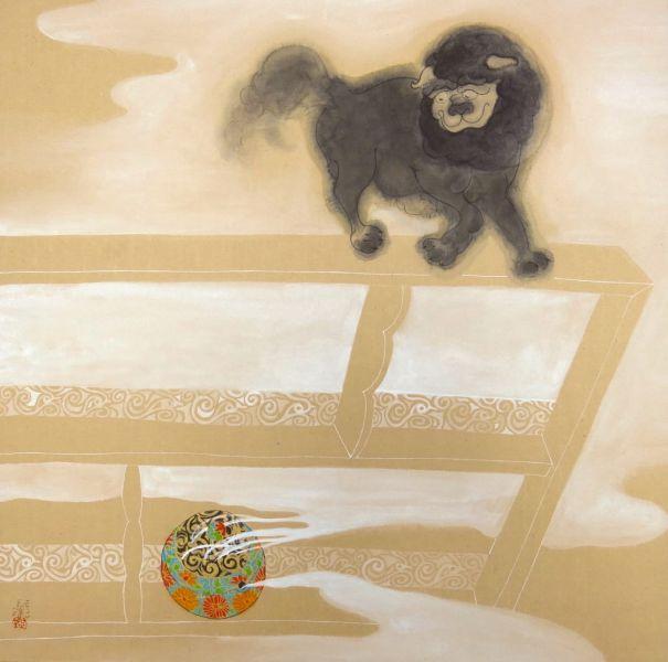蔡名璨-黑傢俱--呼嘯小怪獸17 Howling Little Creature17