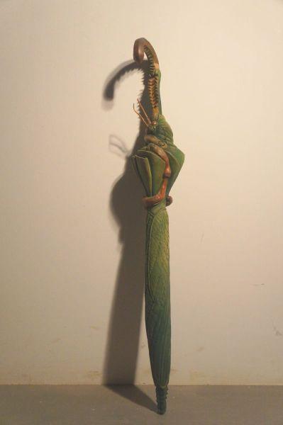 陳家邦-螳螂-擬態 Mantis-Mimicry