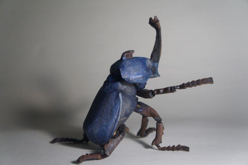 陳家邦-藍兜 Blue Dynastes