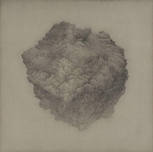 白雨-隕鐵塊 Meteorite Block