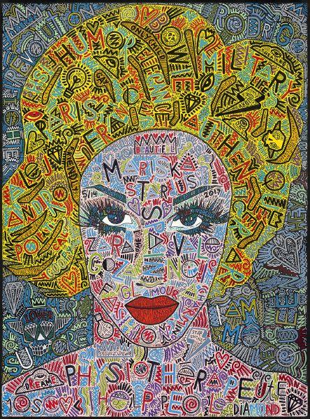 坦尼斯-瑪西絲卡‧星塵:巴黎變裝皇后系列 MARISKA STARDUST: Drag Landscapes - Paris