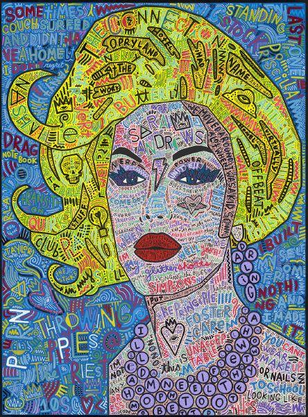 坦尼斯-莎拉‧安德魯絲:芝加哥變裝皇后系列 SARA ANDREWS: Drag Landscapes - Chicago