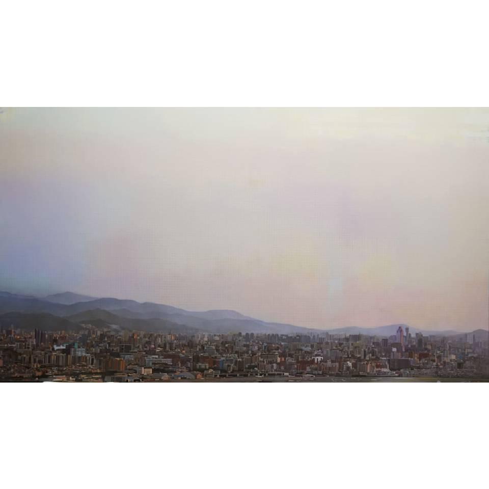 從內湖山上看台北 (3) Taipei Landscape from Nehu Mountain