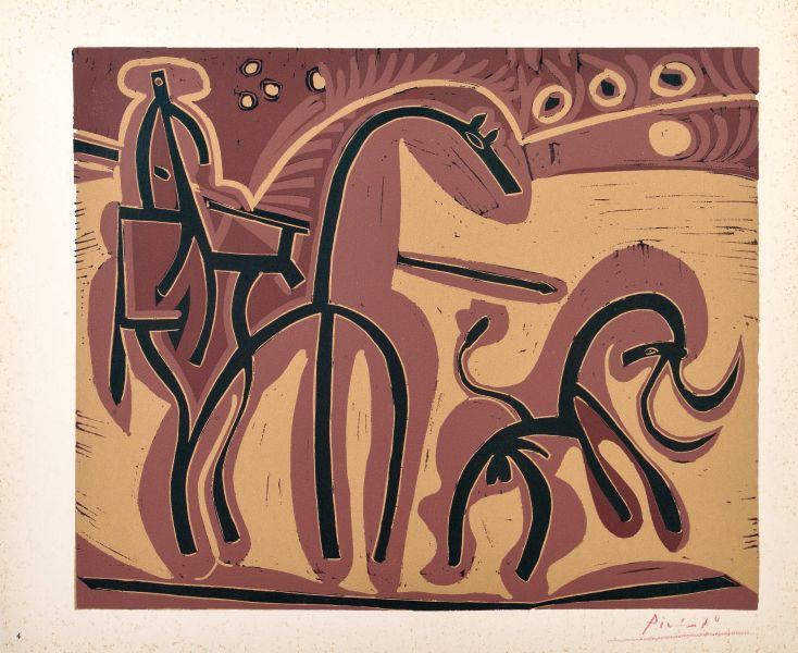 巴勃羅·畢卡索-皮爾卡多與公牛