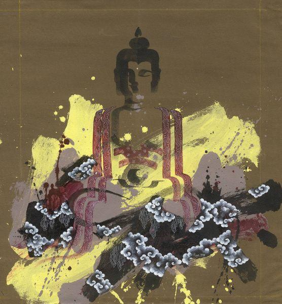 Pema Tshering-Half Buddha Series 2145 (1)