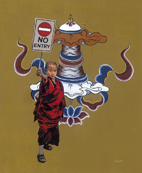 Tintin Pema Tshering-Conversations with the Buddha: No Entry