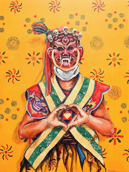 Tintin Pema Tshering-YAP YUM Heart Mudra