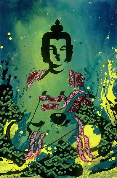 Tintin Pema Tshering-Buddha of Past Present and Future