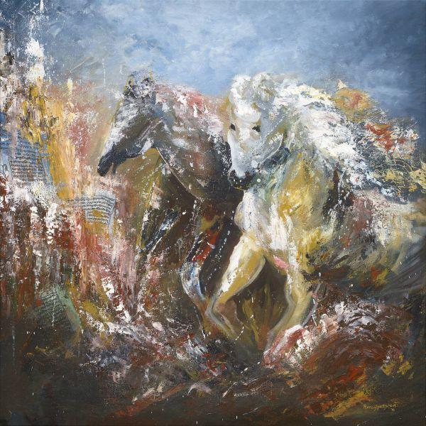 Pema Gyeltshen-THE DIVINE GALLOP 幸運神獸