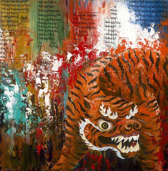 Pema Gyeltshen-五大神獸 老虎 Tag:Tiger