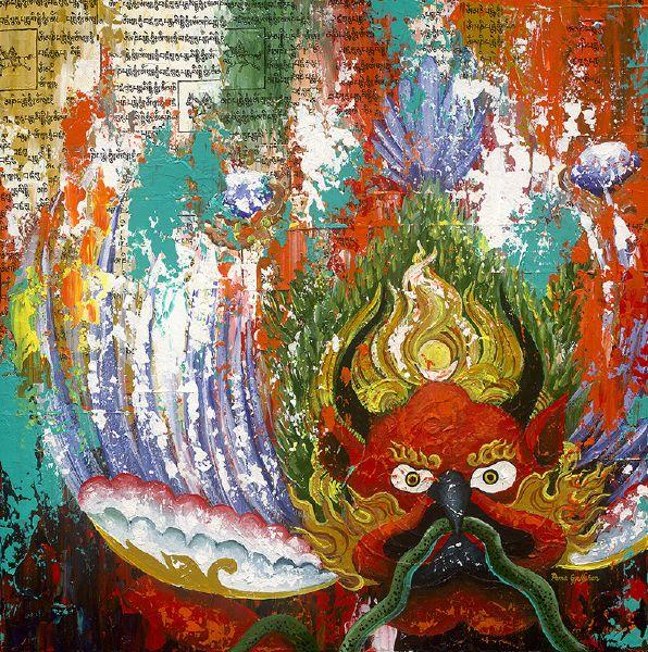 Pema Gyeltshen-五大神獸 金翅鳥 Chung:Garuda