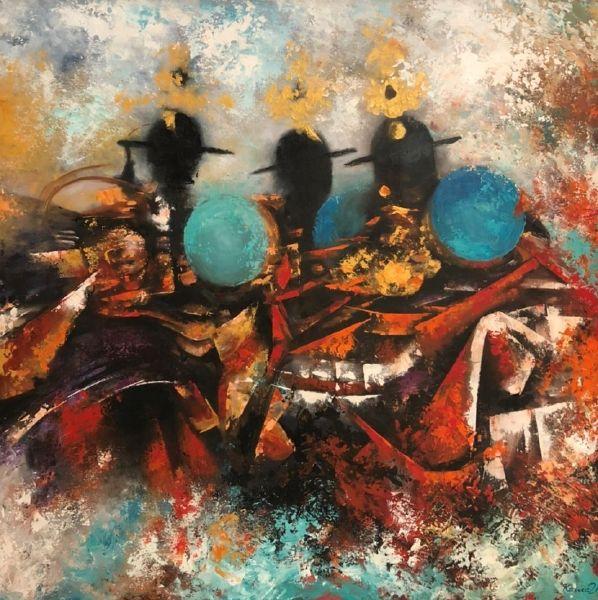 Asha Kama-3 Black Hat Dancers