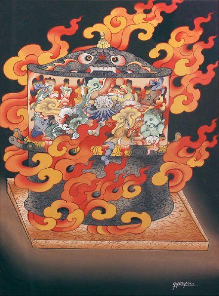 Gyempo Wangchuk-食器煉獄