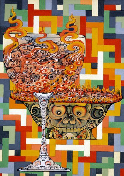 Gyempo Wangchuk-貪杯