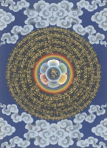 Gyempo Wangchuk 金寶.旺楚克-Compassion mandala 慈悲曼陀羅