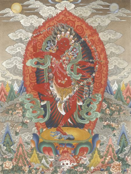 Gyempo Wangchuk 金寶.旺楚克-Kurukulle 咕嚕咕列佛母