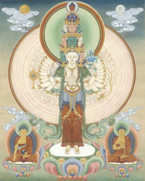 Gyempo Wangchuk 金寶.旺楚克-Avalokitesvara 千手千眼觀音