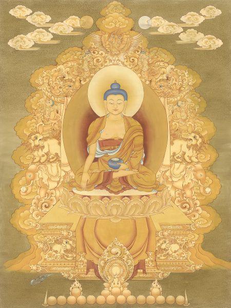 Gyempo Wangchuk 金寶.旺楚克-Buddha 釋迦牟尼佛