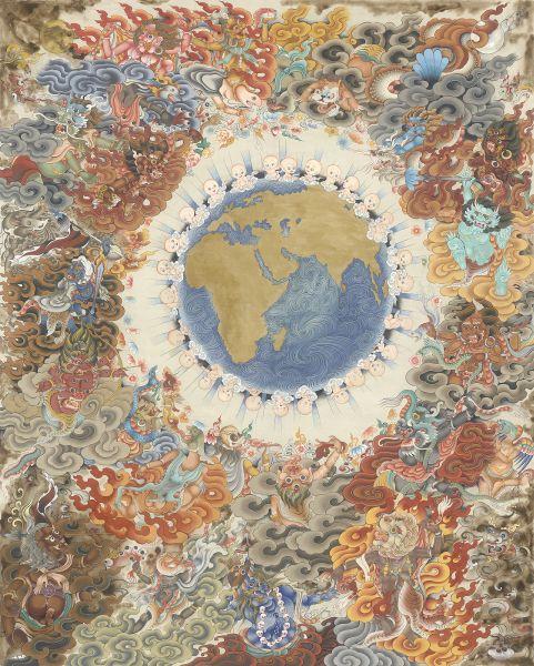 Gyempo Wangchuk 金寶.旺楚克-Existence  愛的存在