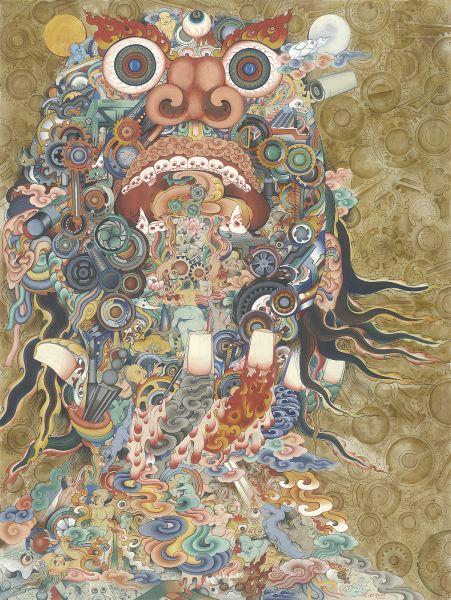 Gyempo Wangchuk 金寶.旺楚克-Power of Technology 科技神獸