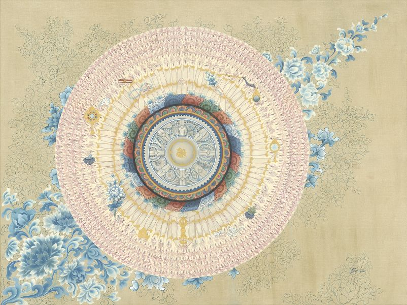 Gyempo Wangchuk 金寶.旺楚克-The Moon 月輪