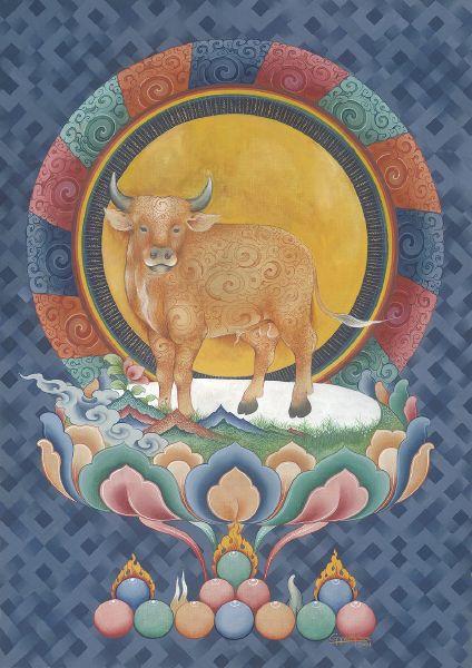 Gyempo Wangchuk 金寶.旺楚克-Ox Year 牛年