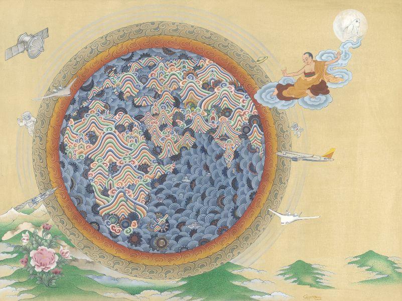 Gyempo Wangchuk 金寶.旺楚克-Interconnectedness 聯繫