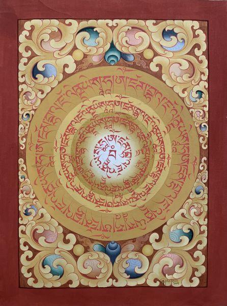 Gyempo Wangchuk 金寶.旺楚克-Wealth Mandala 財富曼陀羅