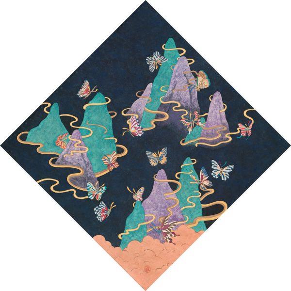 蕭博駿 -幻象極境系列3 花好月圓