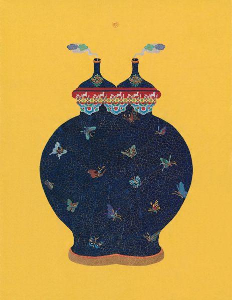 蕭博駿 -時和景泰-馬蹄香瓶(限定版)