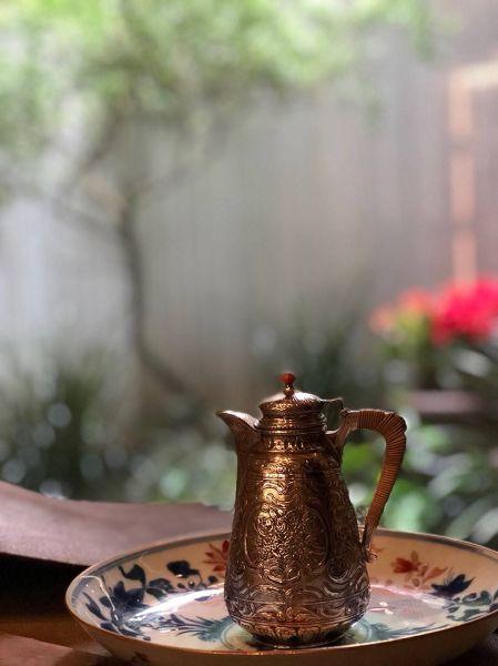 銀器-小銀茶壺
